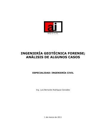 análisis de algunos casos - Academia de Ingeniería