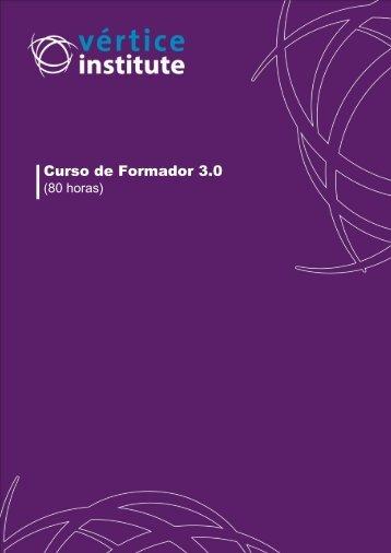 Curso de Formador 3.0 - Vértice Institute