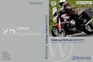 Catálogo OnRoad 2010/2011 - Wunderlich