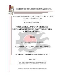 desarrollo de un sistema mecánico de flujo continuo - Instituto ...