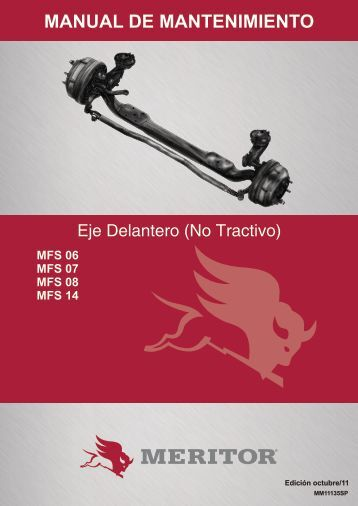 MANUAL DE MANTENIMIENTO - Meritor