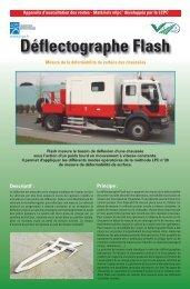 Deflectographe Flash mlpc - Vectra