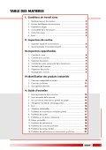 Guide d'entretien des courroies industrielles TEXROPE - Gallon - Page 3