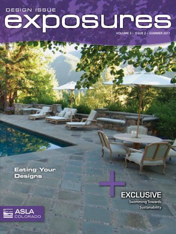 Summer 2011/Design (pdf) - ASLA Colorado
