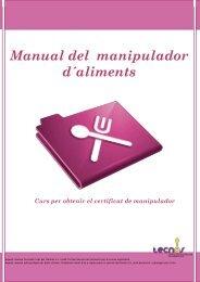 Manual del manipulador de alimentos - Curso de manipulador de ...