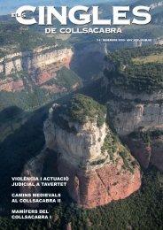 Revista ELS CINGLES - n62 - Desembre 2009 - Ajuntament de ...
