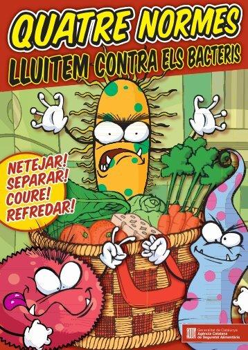 Quatre Normes - lluitem contra els bacteris