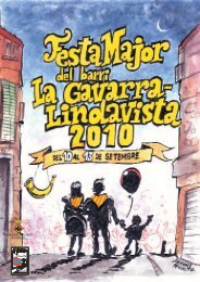 Programa festes Gavarra-Lindavista - Ajuntament de Cornellà