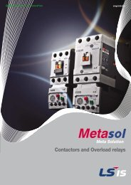 Contactors and Overload relays - H2flow