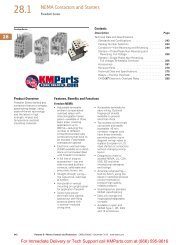 28.1 NEMA Contactors and Starters - Klockner Moeller Parts