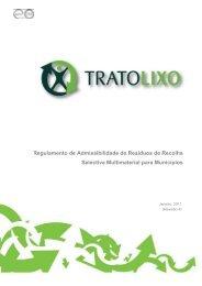 Regulamento de Admissibilidade - Resíduos de Recolha ... - TratoLixo