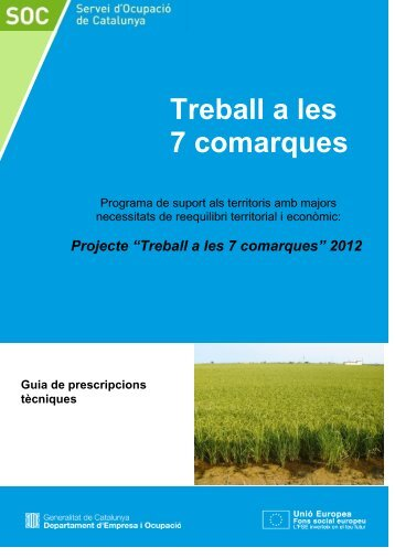 Guia de prescripcions tècniques - Servei d'Ocupació de Catalunya