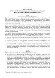 Scarica regolamento - Policlinico di Modena