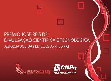 XXXI e XXXII Edições do Prêmio José Reis de Divulgação ... - CNPq