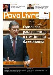 Consolidar para potenciar o crescimento da economia