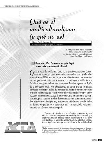 Qué es el multiculturalismo.qxp - Miguel Ángel Quintana