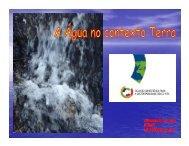 A água no contexto Terra - Prof Alexandre Leite - FEUP