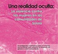 Una realidad oculta: - Biblioteca Hegoa
