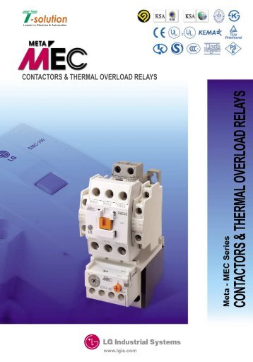 Catalog Telemecanique Contactor Lc1 D Amp Overload Relay