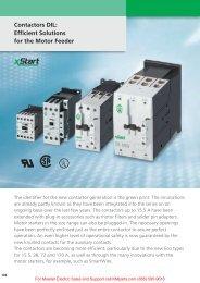 Contactors DIL - Klockner Moeller Parts