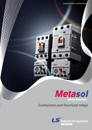 Contactors and Overload relays - bridex