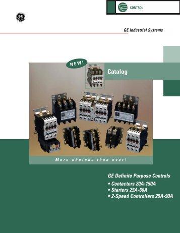 DP Contactors Catalog (DET-264) - GE Energy