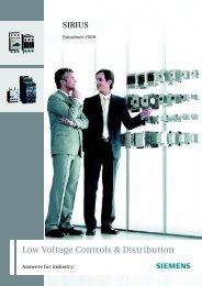 Low Voltage Controls & Distribution - Siemens Answers - Siemens ...
