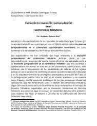 jurisprudencial en el Contencioso Tributario. - Avdt