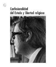 del Estado y libertad religioso - Universidad de Navarra