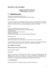Acción de Tutela Sentencia T-227/97 de la Corte ... - Acnur