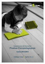 catálogo de test - cospa & agilmic