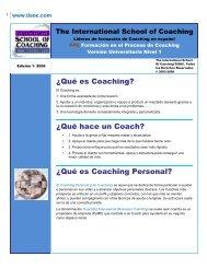 ¿Qué es Coaching? ¿Qué hace un Coach? ¿Qué es Coaching ...