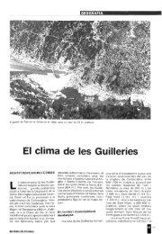 El clima de les Guilleries - Raco