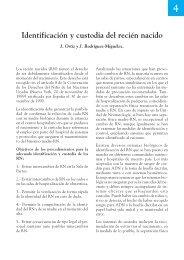 Identificación y custodia del recién nacido - Asociación Española de ...