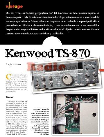 Kenwood TS-870 - Radio-Noticias, revista digital de radioafición