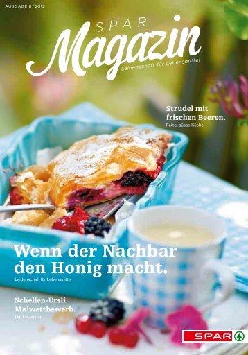 SPAR Schweiz - Magazin 06/12