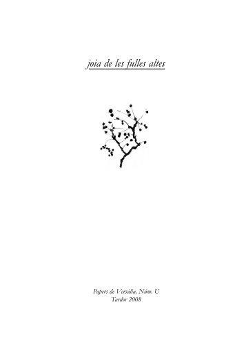 Versalia U.qxp - Papers de Versàlia