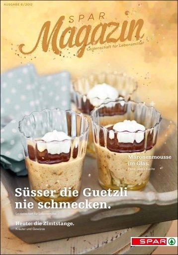 SPAR Schweiz - Magazin 08/12