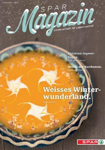 SPAR Schweiz - Magazin 01/13