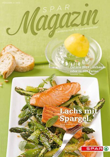 SPAR Schweiz - Magazin 02/13