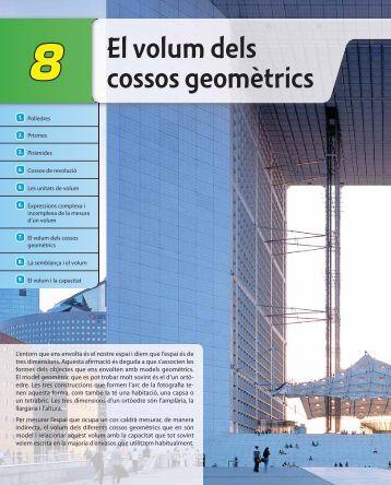El volum dels cossos geomètrics - McGraw-Hill
