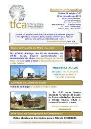 postado em 30/11/2012 - TFCA