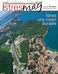 Istres une vision durable