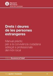 Drets i deures de les persones estrangeres - Ajuntament de Barcelona