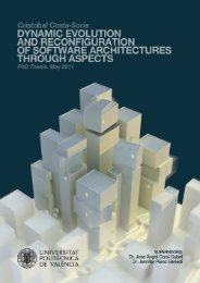 Dynamic Evolution and Reconfiguration of Software Architectures ...