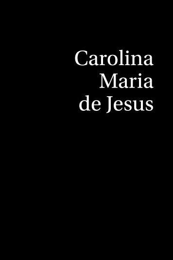 Carolina Maria de Jesus - Garamond