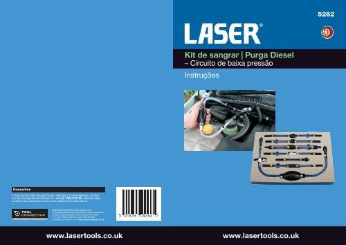 Kit de sangrar | Purga Diesel - Laser Tools