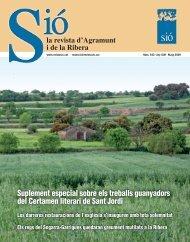 Sió 543. Maig 2009 - Revista Sió