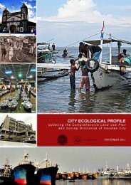 City Ecological Profile 2011 (Updating CLUP and ... - Navotas City