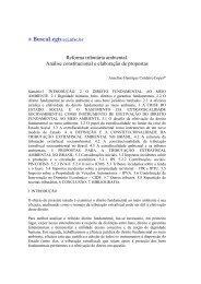 Reforma tributária ambiental. Análise constitucional e ... - eGov UFSC